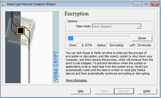 veracrypt-venster